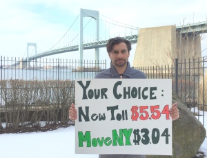 Keegan at Throgs Neck Bridge
